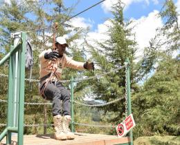 The Forest Zip Lining Synergy & The Hike